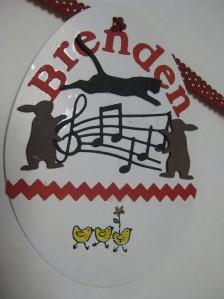 Brendens' Easter tag