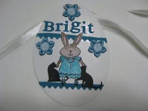 Brigits Easter tag