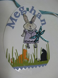 Meghan's Easter tag