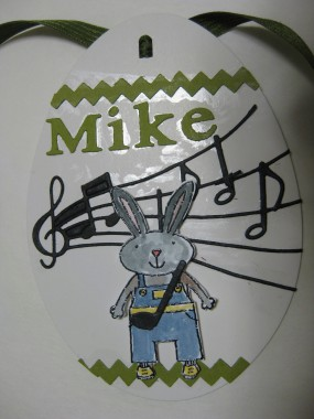 My son Mike loves his music, so these notes are for him